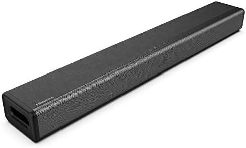 ハイセンス 2.1ch サウンドバー スピーカー HS214 サブウーファー内蔵 Bluetooth/HDMI/ARC対応 2020年モデル ブラック