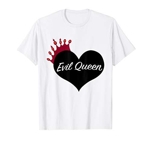 Evil Queen Heart and Crown Halloween Costume -