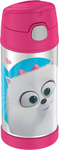 Thermos F4019LI6 Secret Life of Pets 2 Beverage Bottles, 12 Ounce