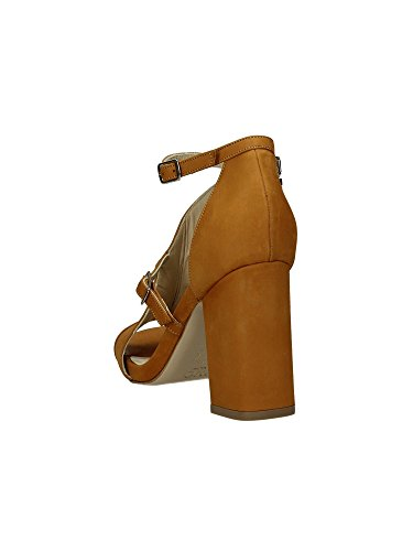 Wo Milano T222 Sandales femmes Cognac, Taille 2