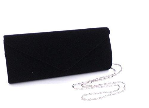 Nodykka Clutch Purses For Women Evening Bags Shoulder Envelope Party Cross Body Handbags (Black3) by Nodykka (Image #2)