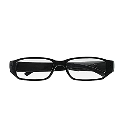 UMANOR Hidden Camera, Fashion Spy Camera Eyeglasses Loop Video Recorder with Audio, Mini Nanny Cameras from UMANOR