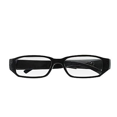 UMANOR Hidden Camera, Fashion Spy Camera Eyeglasses Loop Video Recorder with Audio, Mini Nanny Cameras from UMANOR