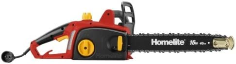 Factory Reconditioned Homelite ZR43120 16-Inch 12 Amp Chain Saw With Automatic Oiler Discontinued by Manufacturer Renewed