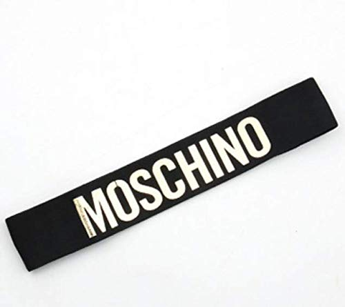 Meimei Headband Perfect for Basketball, Running, Fits for Men and Women (Black) (Moschino gold) ()