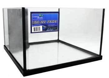 Deep Blue Professional 21 gallon Rimless Reef Ready Micro Frag Tank, 20 x 20 x 12 by Deep Blue Professional