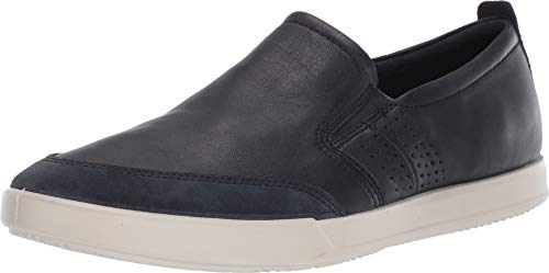- ECCO Men's Collin 2.0 Slip On Sneaker, Navy Suede/Night Sky, 41 M EU (7-7.5 US)