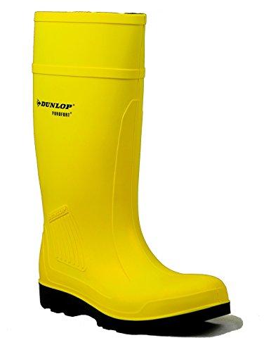 Dunlop STIVALI PER UOMO PUROFORT STANDARD FULL SAFETY, S5 - C462241 Yellow