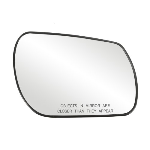 Fit System 80163 Mazda3/Mazda6 Right Side Power Replacement Mirror Glass with Backing Plate