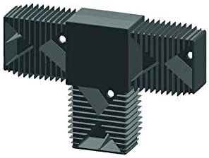 T-Verbinder System 40//60 Aluminium 60//40 Terrassen Unterkonstruktion 2 Meter