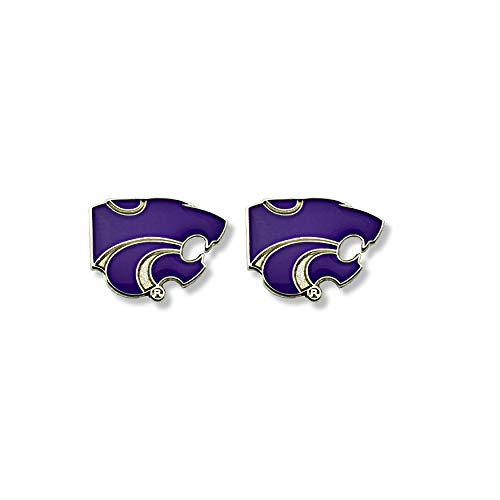 - NCAA Kansas State Wildcats Team Post Earrings