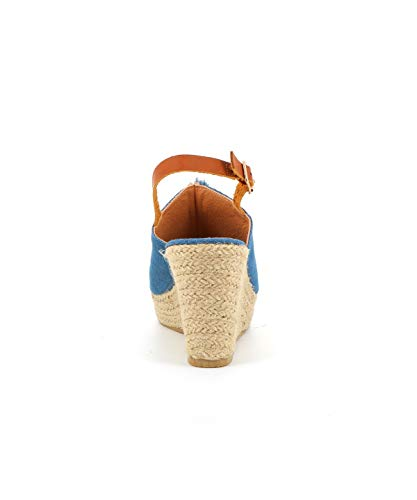 D'azur Plateforme Cassis Sandale Bagnera Bleu Cote 58xxgqwH