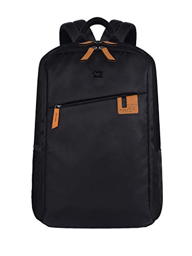 Gear Compact Business Laptop Backpack 17 Ltrs Black Laptop Backpack (BUSCOMPACT001)
