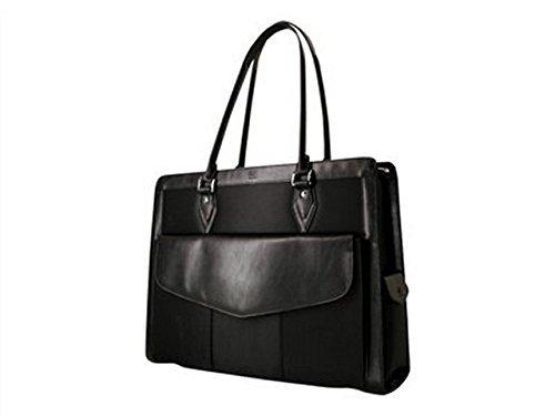 MOBILE EDGE 17 geneva large notebook handbag (black) by Mobile Edge