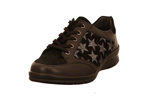 ville Noir Semler pour lacets 001 de femme Chaussures à H6025945 IwAxqwCZ