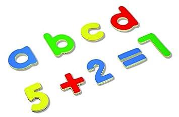 Andreu Toys Letras y números magnéticos