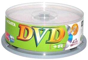 UPC 846122011575, Ridata DVD+R 16X 4.7 GB Discs with Cake Box (25-pack)