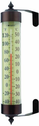 CONANT T16BP Grande View Thermometer, Bronze Patina