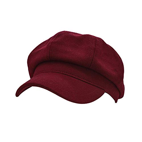 WETOO Women Newsboy Hat Cap for Ladies Visor Beret Hat