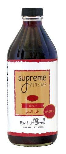 Supreme Organic Date Vinegar - 16 oz.