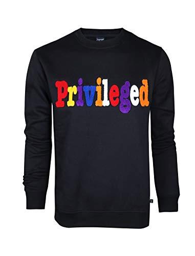 Screenshotbrand Mens Urban Hip Hop Premium Fleece – Pullover Activewear Street Fashion Crew Neack Sweatshirt