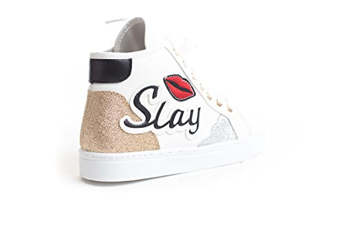 White Sneaker Casual Up High Soho Shoes Top New Shoes Womens Slay Lace Casual wx47vSq