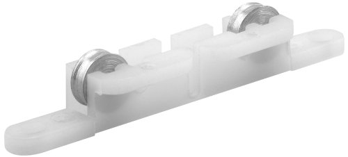 (Prime-Line Products G 3158 Sliding Window Tandem Roller Assembly with 5/16-Inch Flat Steel Wheels,(Pack of 2))