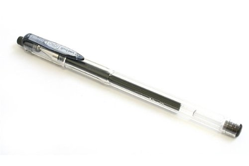 Uni Gel Ballpoint Pen Uni-Ball Signo Erasable 0.5mm, Black (UM101ER05.24)