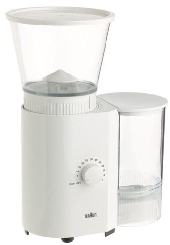 Braun KMM30 Coffee/Espresso Mill, White