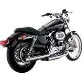Vance & Hines 16819 Straight Shot Slip Ons for Harley 04-13 Sportster