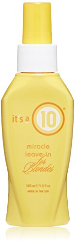 It's a 10 Haircare Miracle Leave-In for Blondes, 4 fl. oz.