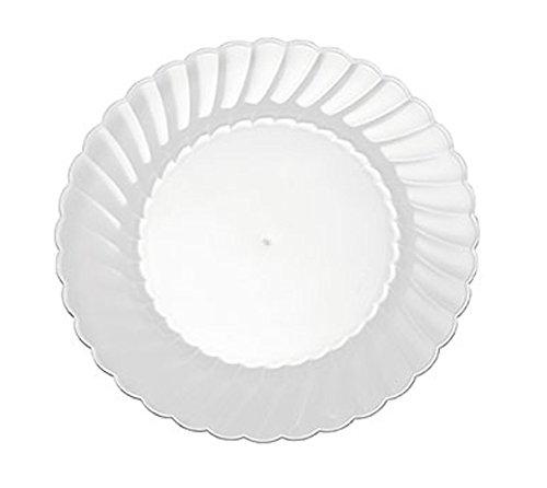 WNA 18 Count Classicware Fluted Plastic Plate, 6