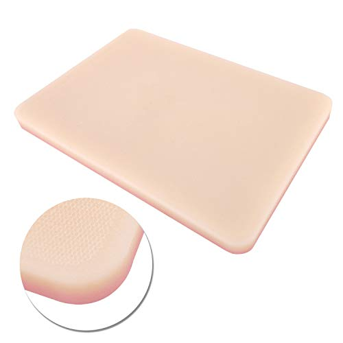 Upgraded Silicone Suture Pad Surgical Skin Model 3-Layers Suture Practice Kit for Medical Student Suture Training Medical Veterinary Teaching with Design Wounds at Will