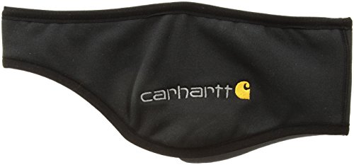 Carhartt Men's Force Fleece Ball Cap Headband, black, One Size by Carhartt