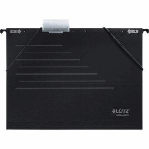 Leitz 5 x Hängemappe Hängemappe Hängemappe Alpha Active schwarz VE=5 Stück B0050CJ54U | Günstigen Preis  7384c6