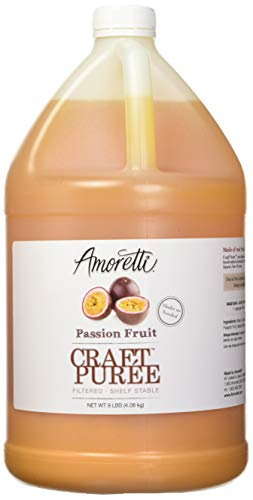 Amoretti Craft Puree, Passion Fruit, 9 Pound