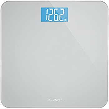 Greater Goods Backlit Digital Body Weight Bathroom Scale with Backlit Glass Display and Accurate Weight Measurements