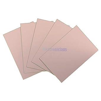 1pcs 10x15cm FR4 Single PCB Copper Clad Laminate Board 10*15cm