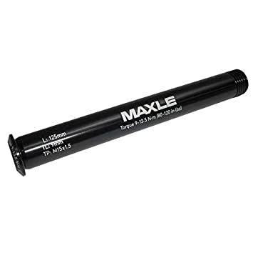 Maxle Stealth Front Thru Axle 15x100 125mm Length Road