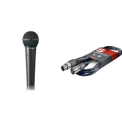 Amazon.com: Behringer Ultravoice XM8500 Dynamisches Gesangsmikrofon ...