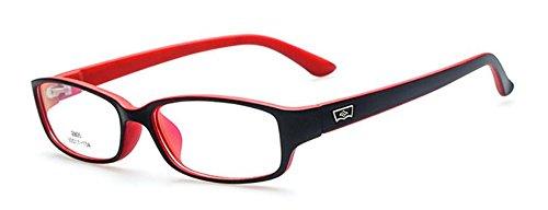 Black Red New Child's Children Girl Boy Myopia Eyeglass Frame Glasses Optical Eyewear - Glasses Optical Police