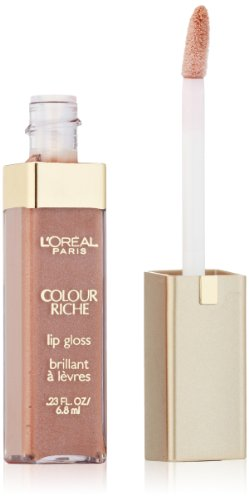 L'Oréal Paris Colour Riche Lip Gloss, Soft Nude, 0.23 fl. o
