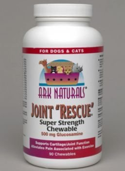 Ark Naturals – Joint Rescue Super Strength, 500 mg, 60 chewable tablets, My Pet Supplies