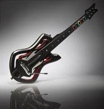 Guitar Hero: Warriors of Rock Wireless Guitar Controller - Guitar Only - For Wii by AXNY
