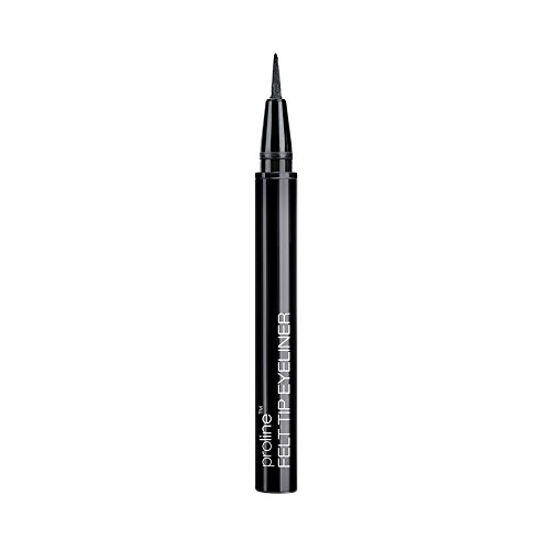 Wet & Wild Eyeliner Proline Felt Tip, Black, 0.3 (Pro Line Felt)
