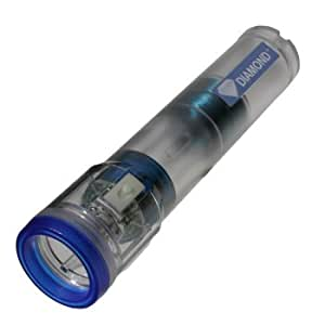 Diamond Gen IV - Rechargeable No Battery LED Shake Flashlight - 2 Hour - Clear