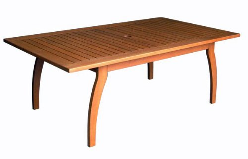 International Caravan TT-RE-032-IC Furniture Piece Royal Tahiti Outdoor Rectangular Coffee Table