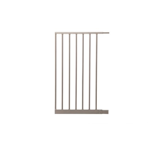Dreambaby Magnetic Sure Close Gate Extension, Silver, 16.5