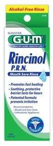 GUM Rincinol P.R.N. Bandage orale Apaisant, 4-bouteille d'once (Pack de 3)