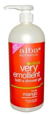 Alba Botanica Alba botanica very emollient bath & shower gel honey mango 32 fl oz (946 ml)